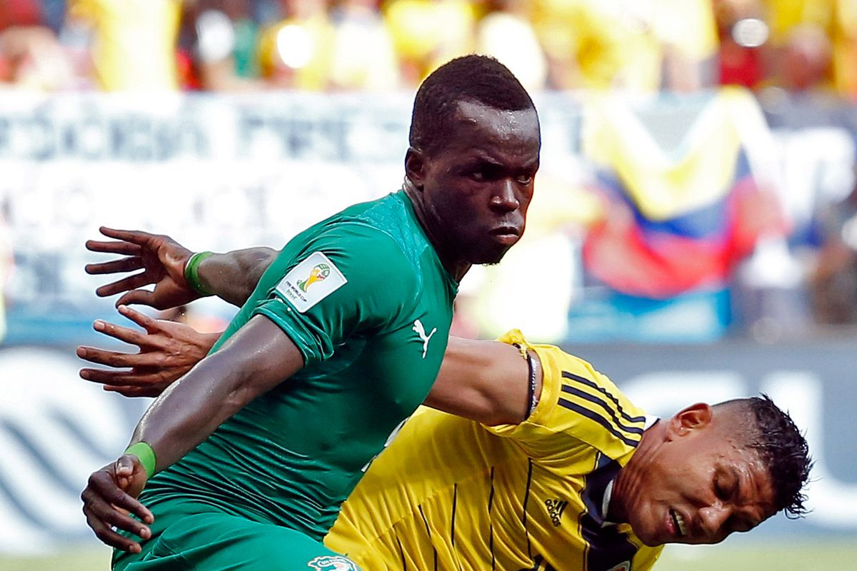 Tiote and Ivory Coast will be looking to advance today.