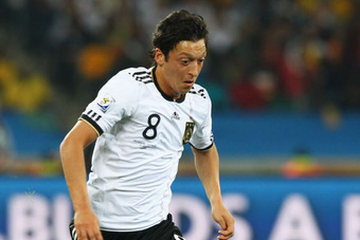 I thought Mesut Ozil was the star of the first set of matches in the World Cup (Robert Cianflone/Getty Images)