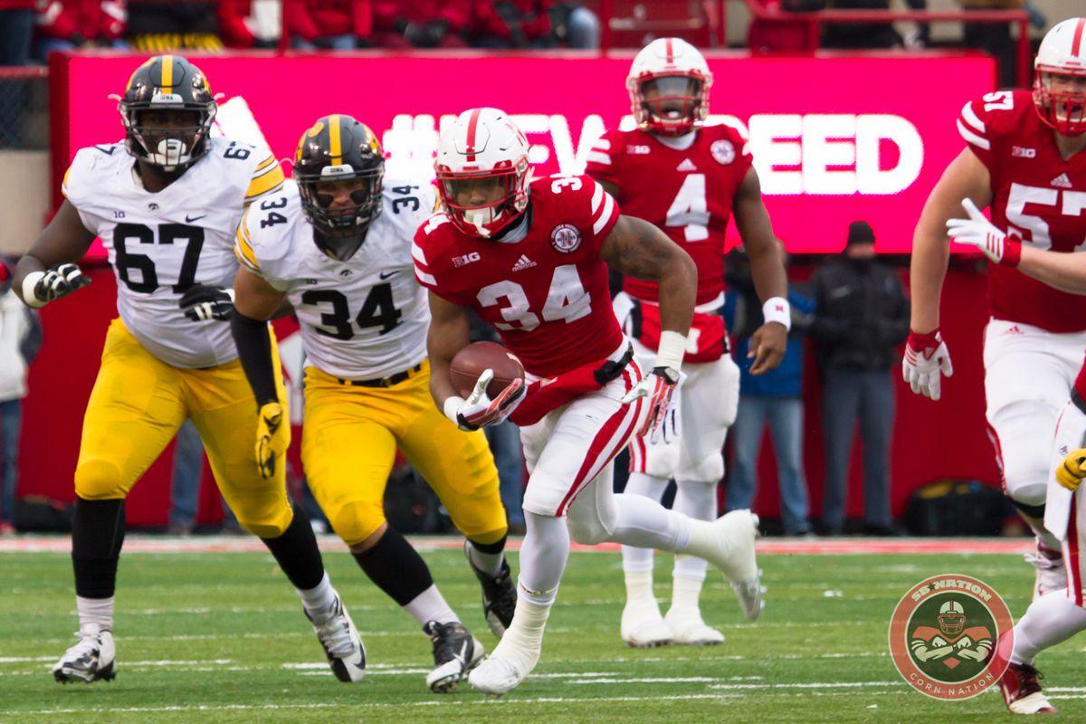 Nebraska running back Terrell Newby