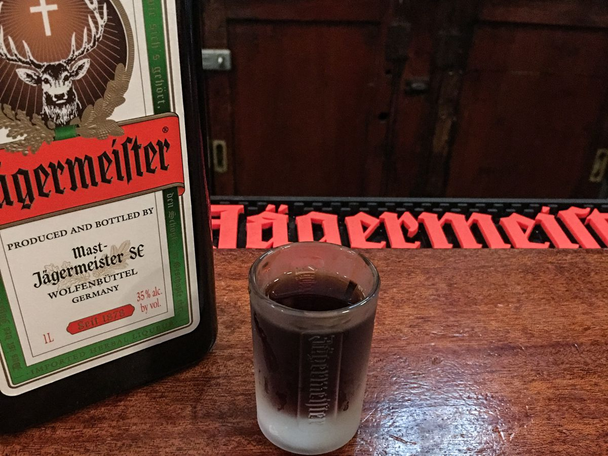 Jagermeister at Jacob Wirth