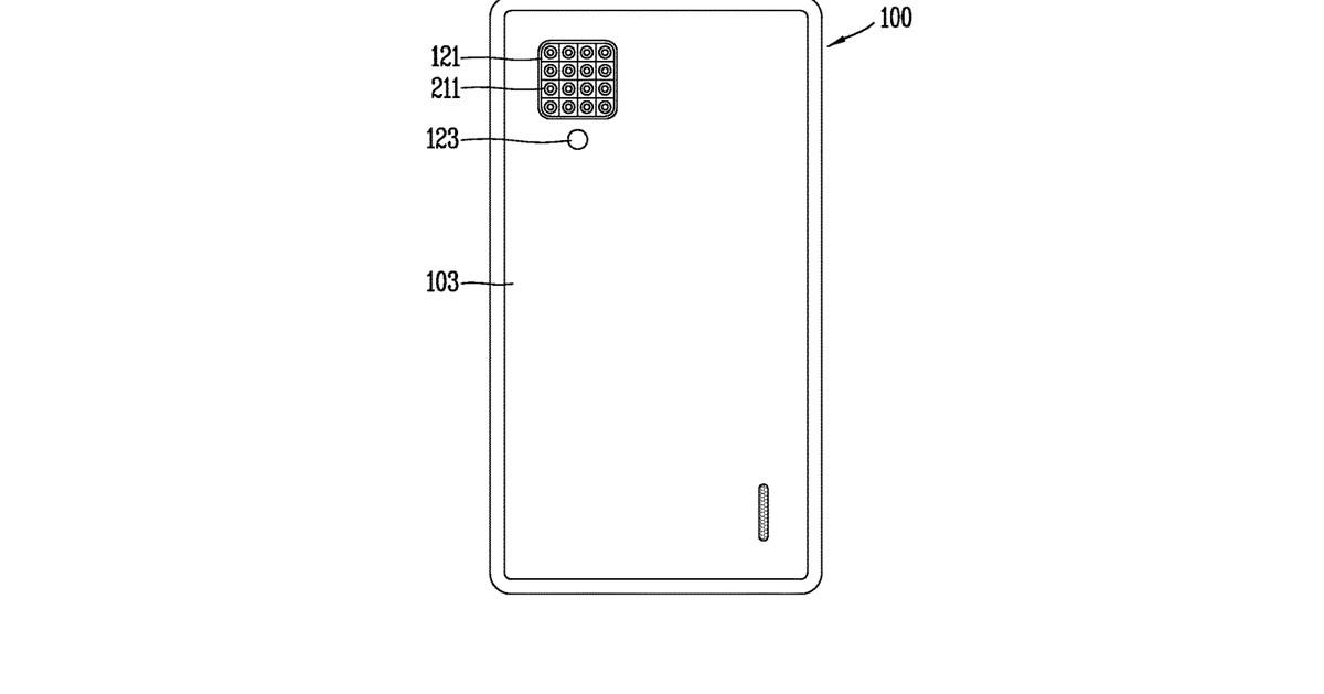 LG patent hints at a 16-lens smartphone camera