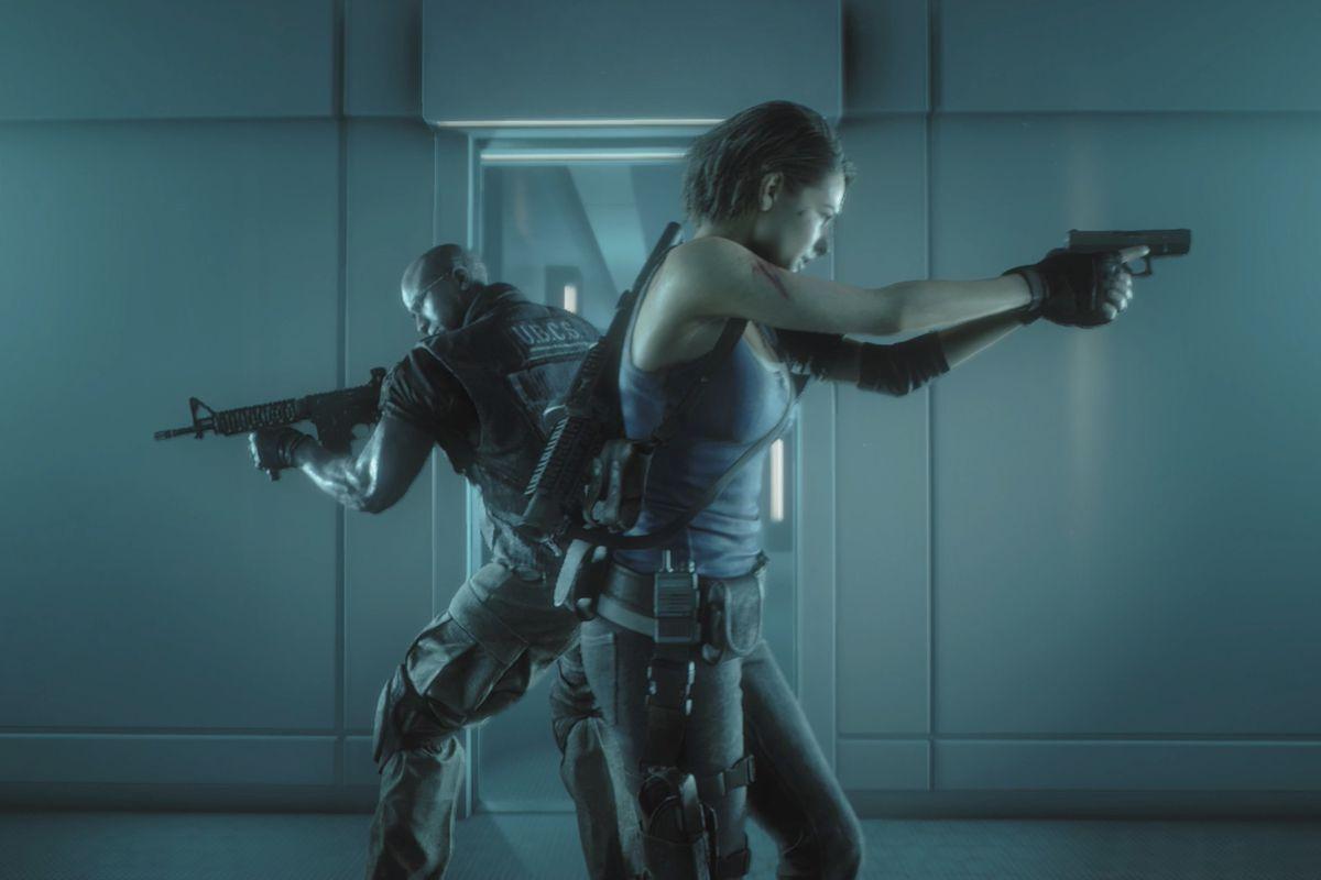 Resident Evil 3 NEST 2 Vaccine walkthrough