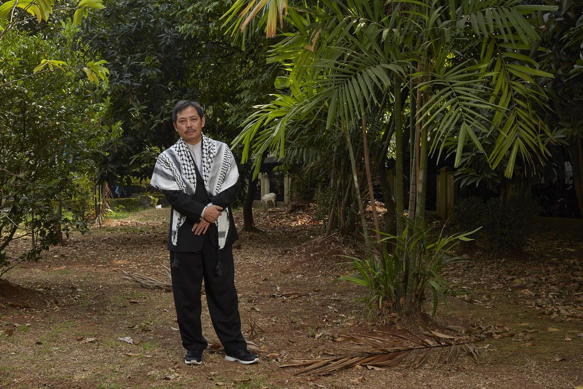 Fachruddin Majeri Mangunjaya, photographed in Jakarta, Indonesia Saturday, Aug. 10,2019, is a leading eco-activist in the Muslim world, who has been working to bring religion to bear in the pursuit of conservation goals since the 1980Õs. He has a long list of accomplishments, books he has written, initiatives he has started and organizations he has helped to found. He has helped train more than 1000 clerics in delivering sermons that connect science and religion with environmental content.