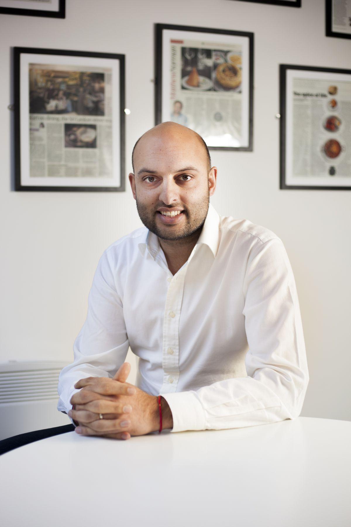 Jyotin Sethi, chief executive JKS Restaurants