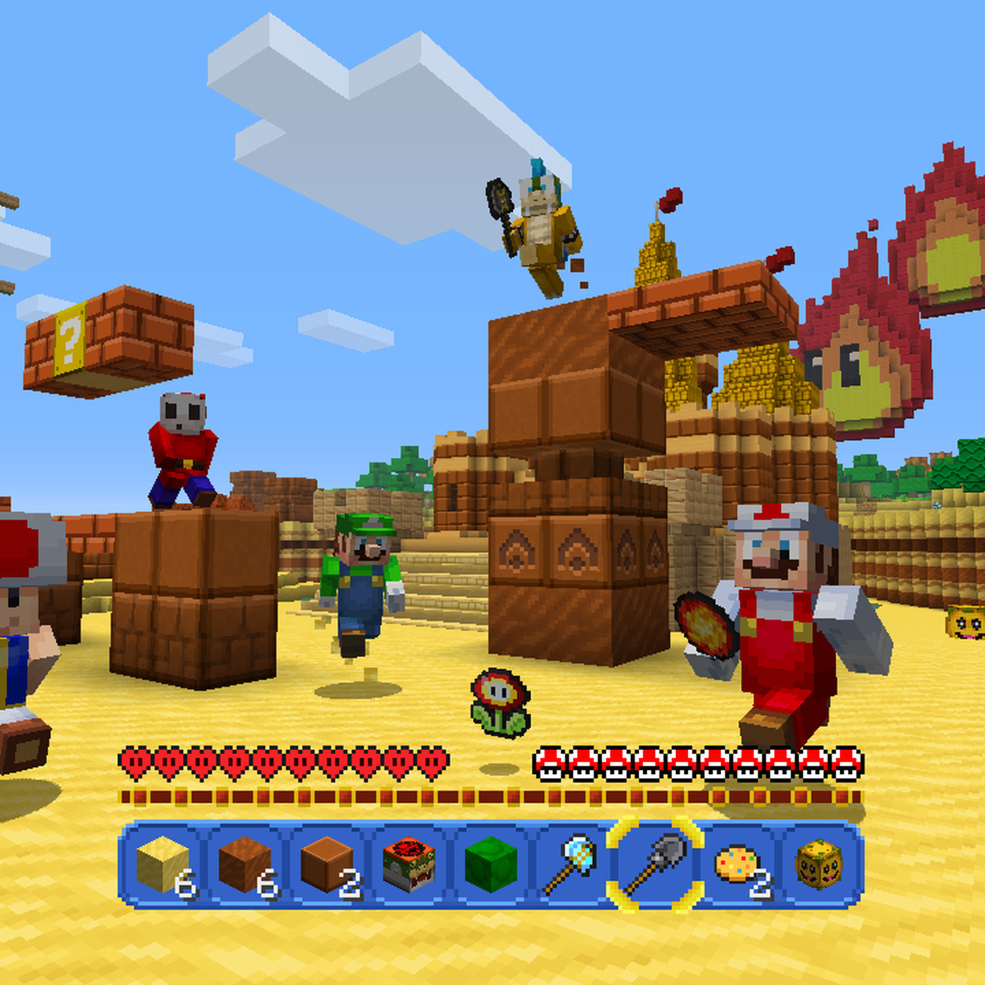 Nintendo S New Minecraft Mash Up Is A Love Letter To Super Mario