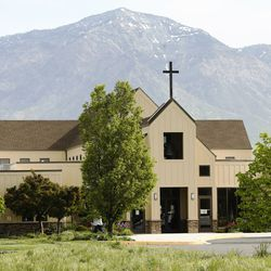 Ogden First United Methodist Church in Marriott-Slaterville, Weber County, is pictured on Tuesday, May 12, 2020. The church has an 11-acre property with a community garden and beehives, which provides fresh vegetables and honey to church members and Ogden's Lantern House homeless shelter.