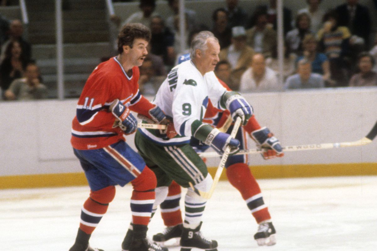 1980 Preliminary Round - Game 3: Montreal Canadiens v Hartford Whalers