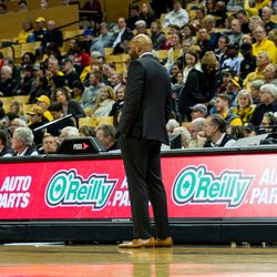 Cuonzo Martin, taking in the action