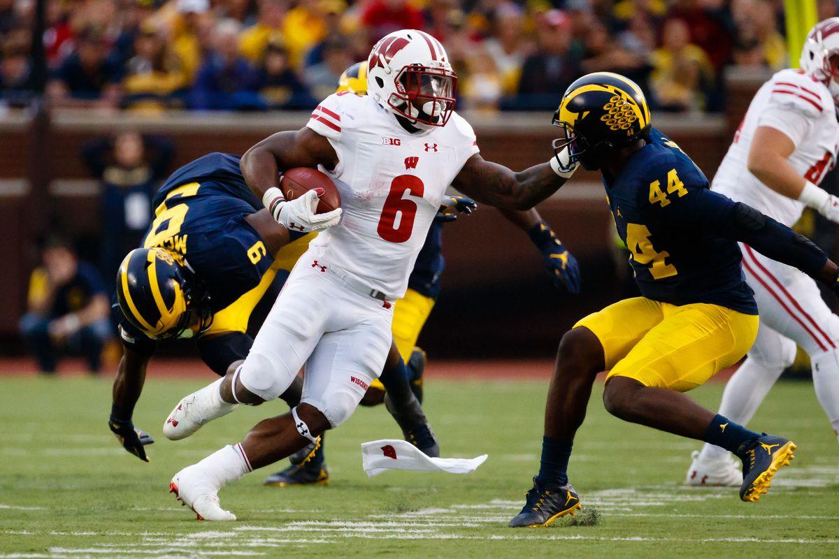 NCAA Football: Wisconsin at Michigan