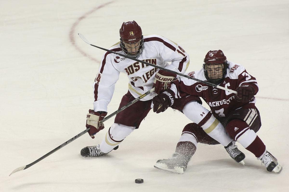 Boston College Vs. UMass Men's Hockey