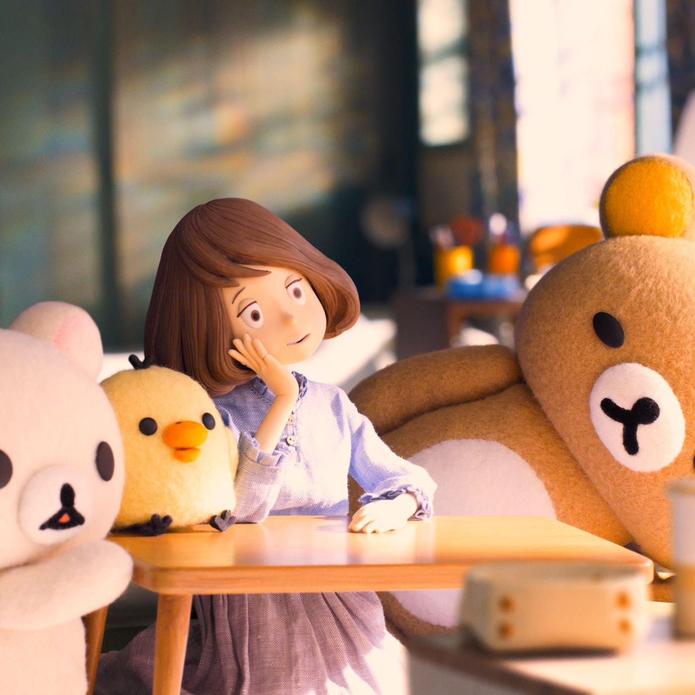Experience cuteness overload with Netflix's Rilakkuma and