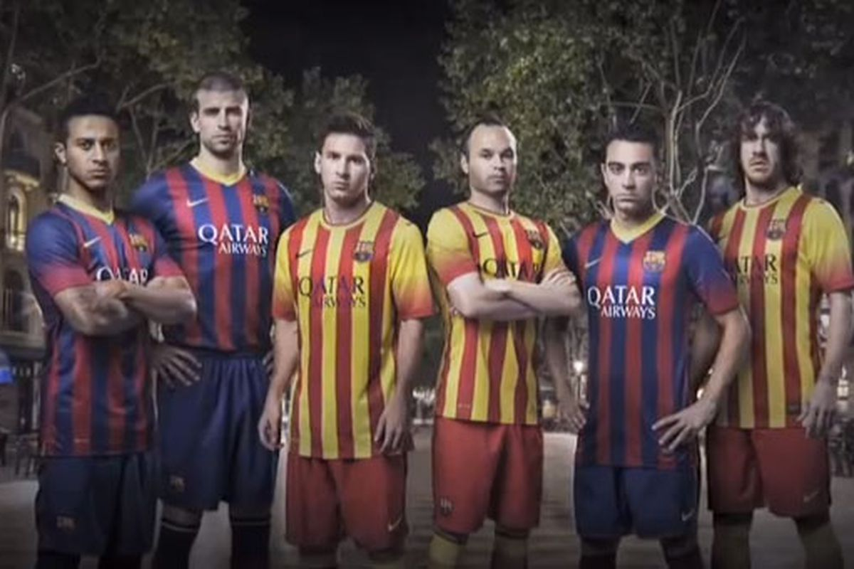 a16f583c482 Barcelona s new away jerseys just destroyed all other away jerseys ...