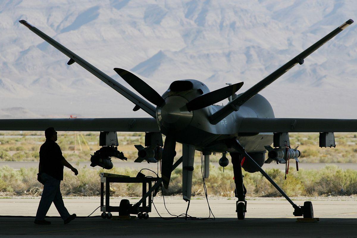 An MQ-9 Reaper drone
