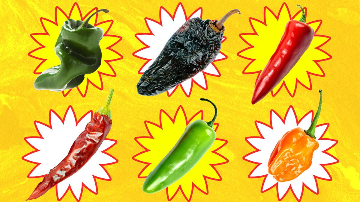 Various chiles