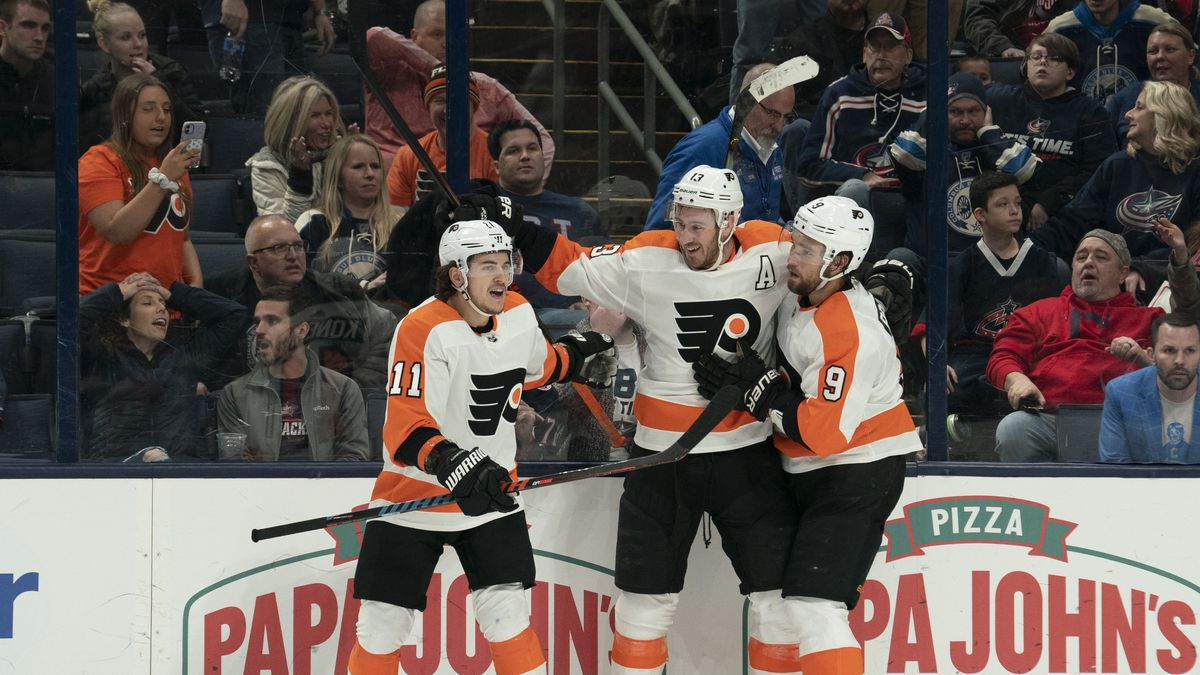 NHL: FEB 20 Flyers at Blue Jackets