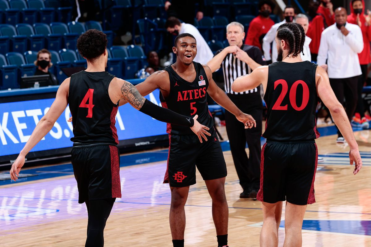 NCAA Basketball: San Diego State at Air Force