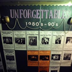 Playbills from the years fill the walls at the Valley Center Playhouse in Lindon on Thursday, Dec. 12, 2013. Owners Keith and Jody Renstrom are closing the playhouse on Dec. 21 after 38 years of community theater.