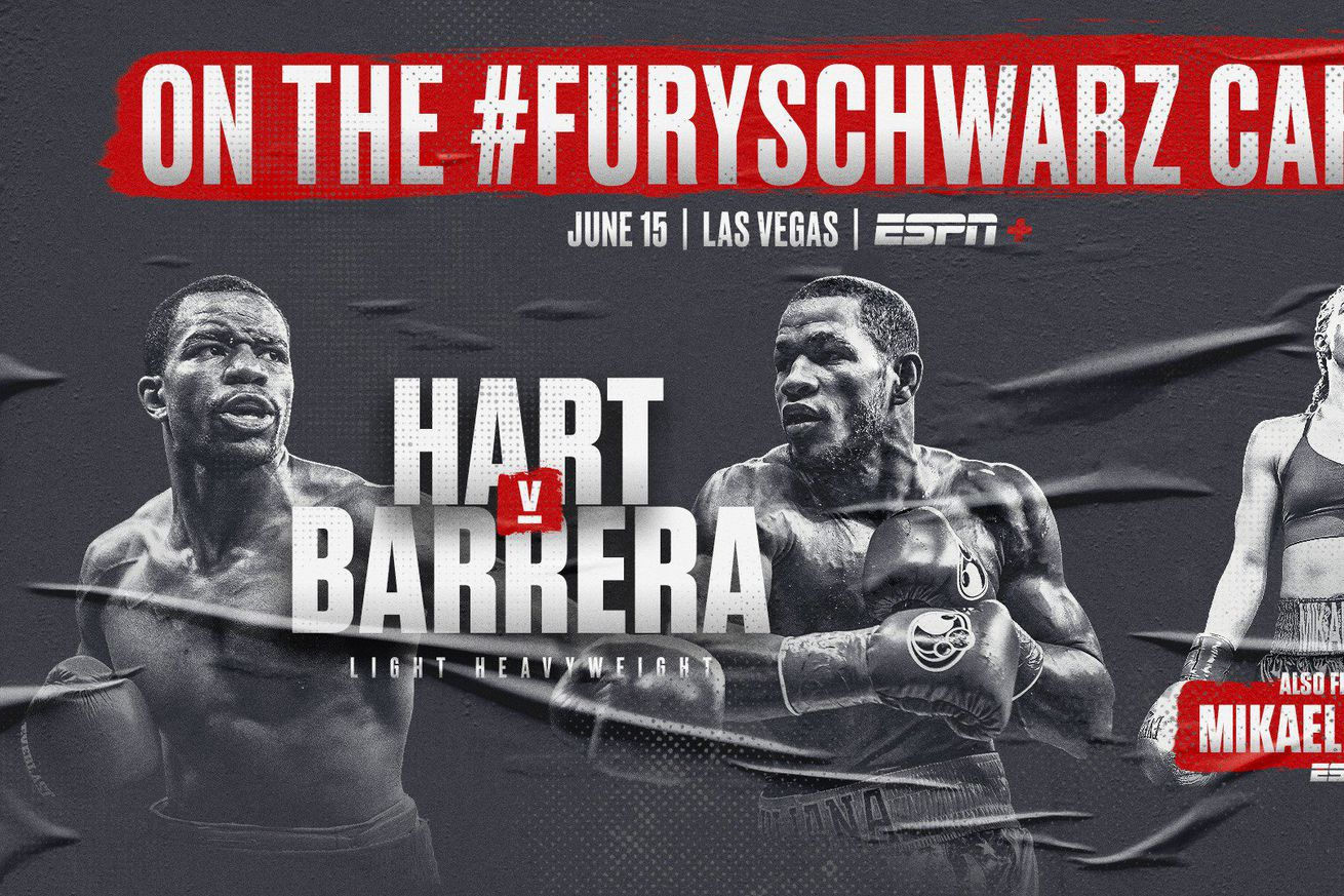 D7wbiOYU0AA9oLd.jpg large.0 - Barrera-Hart confirmed, Fury-Schwarz prelims to air on ESPN2