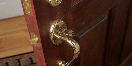 Commercial Door Products 4 Pack Heavy Duty Front Exterior Bedroom Doors Locks Door Lever Door Lock Sets Entry With Keys Modern Durable Door Hardware Reversible Matte Black Finish Handleset Entry Doors