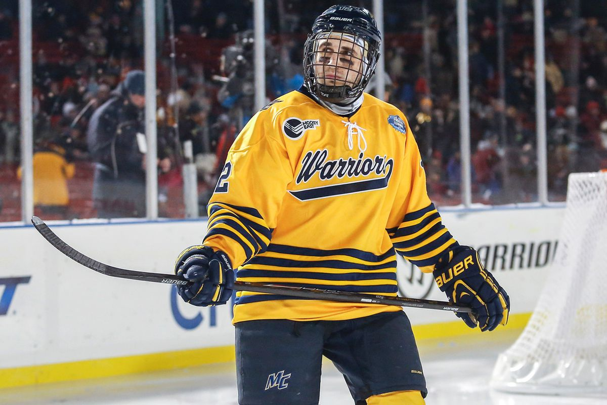 Vinny Scotti is one player Merrimack head coach Mark Dennehy will look for to help with the offense.