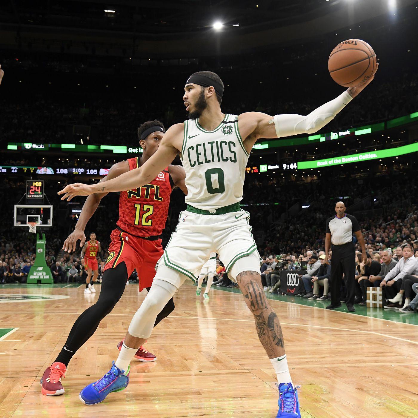 Jayson Tatum Is Becoming A Superstar Before The Celtics Eyes Sbnation Com