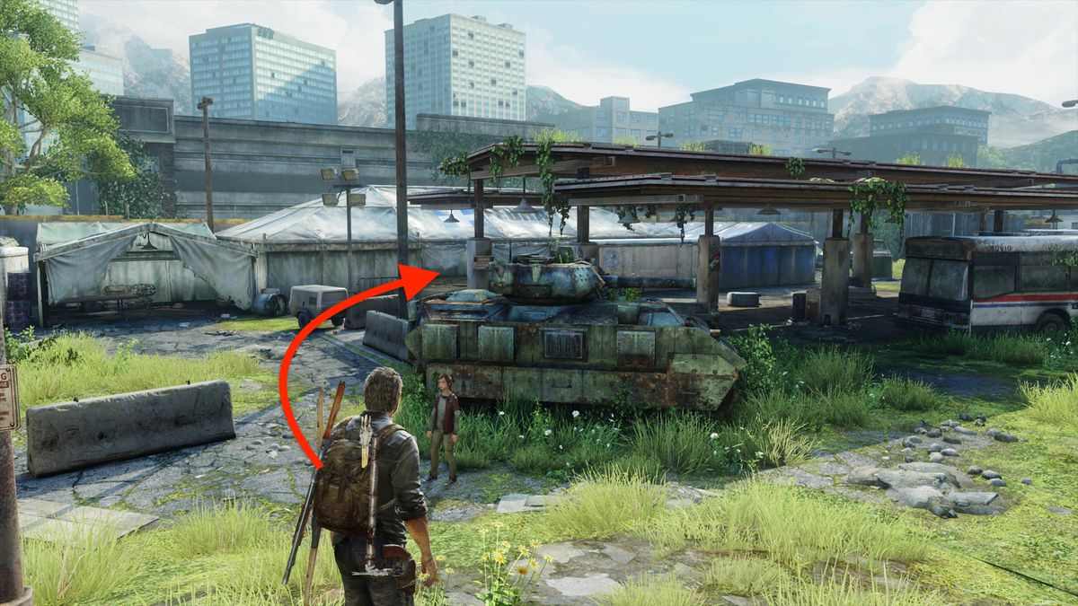 The Last of Us 'Bus Depot' collectibles locations guide