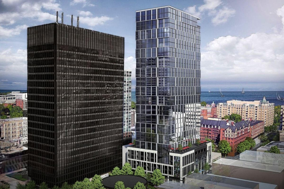 Proposed 33 Story High Rise Could Become Evanston S