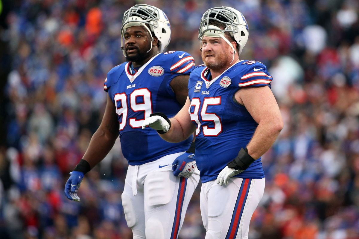Marcell Dareus and Kyle Williams (GettyImages)