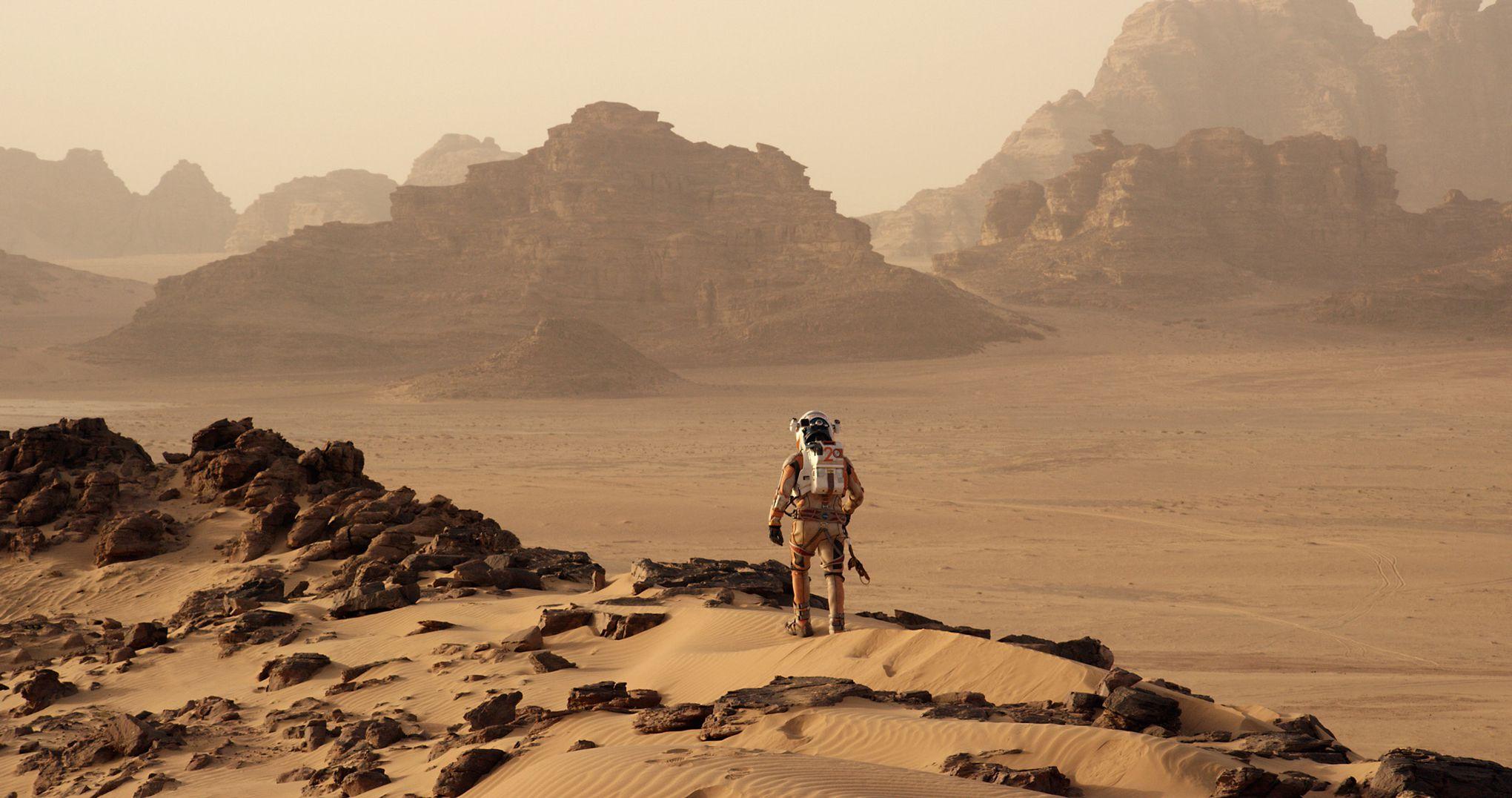 The Martian promotional stills (FOX)