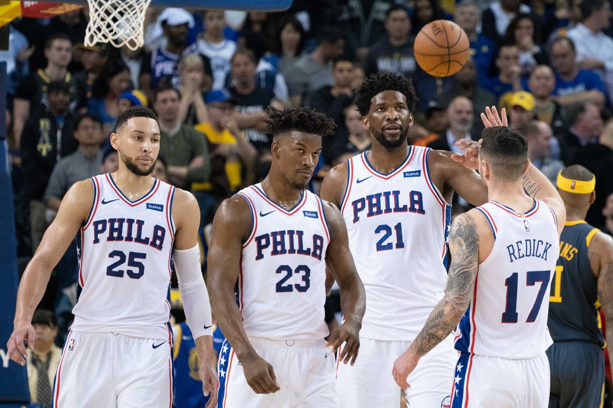 7156220f7d21 With or without you  examining some early data splits on the Sixers  starting 5