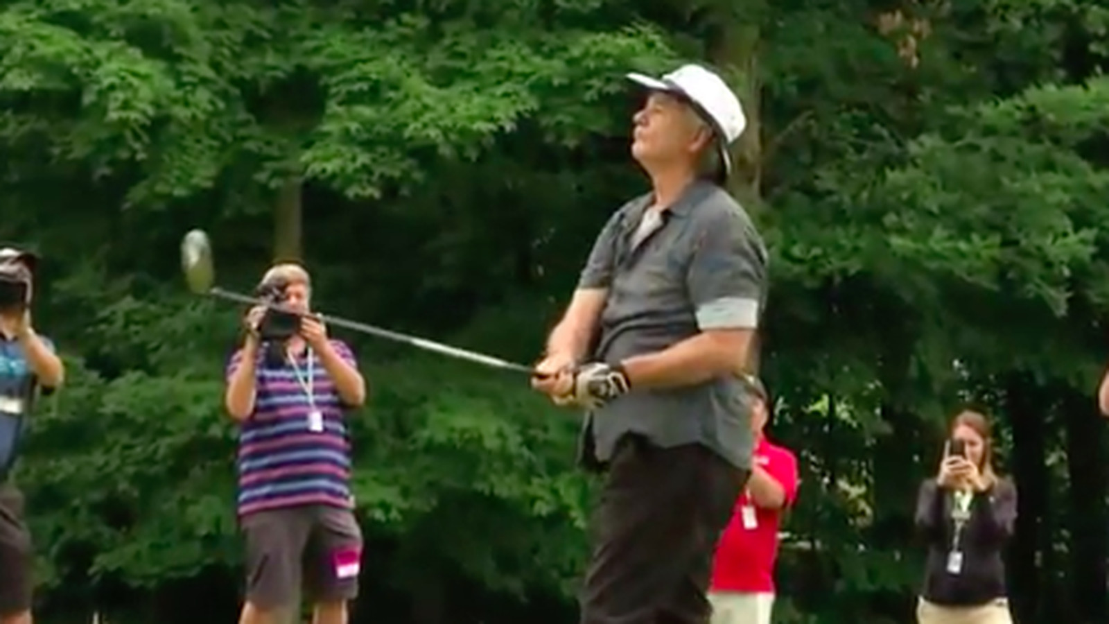 bill murray shows up to pga tour pro