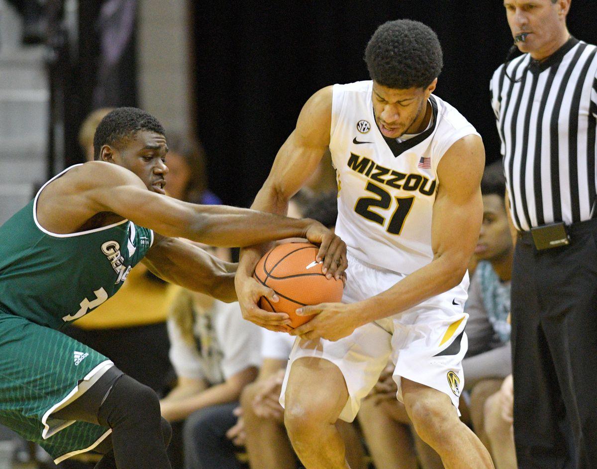 NCAA Basketball: Green Bay at Missouri