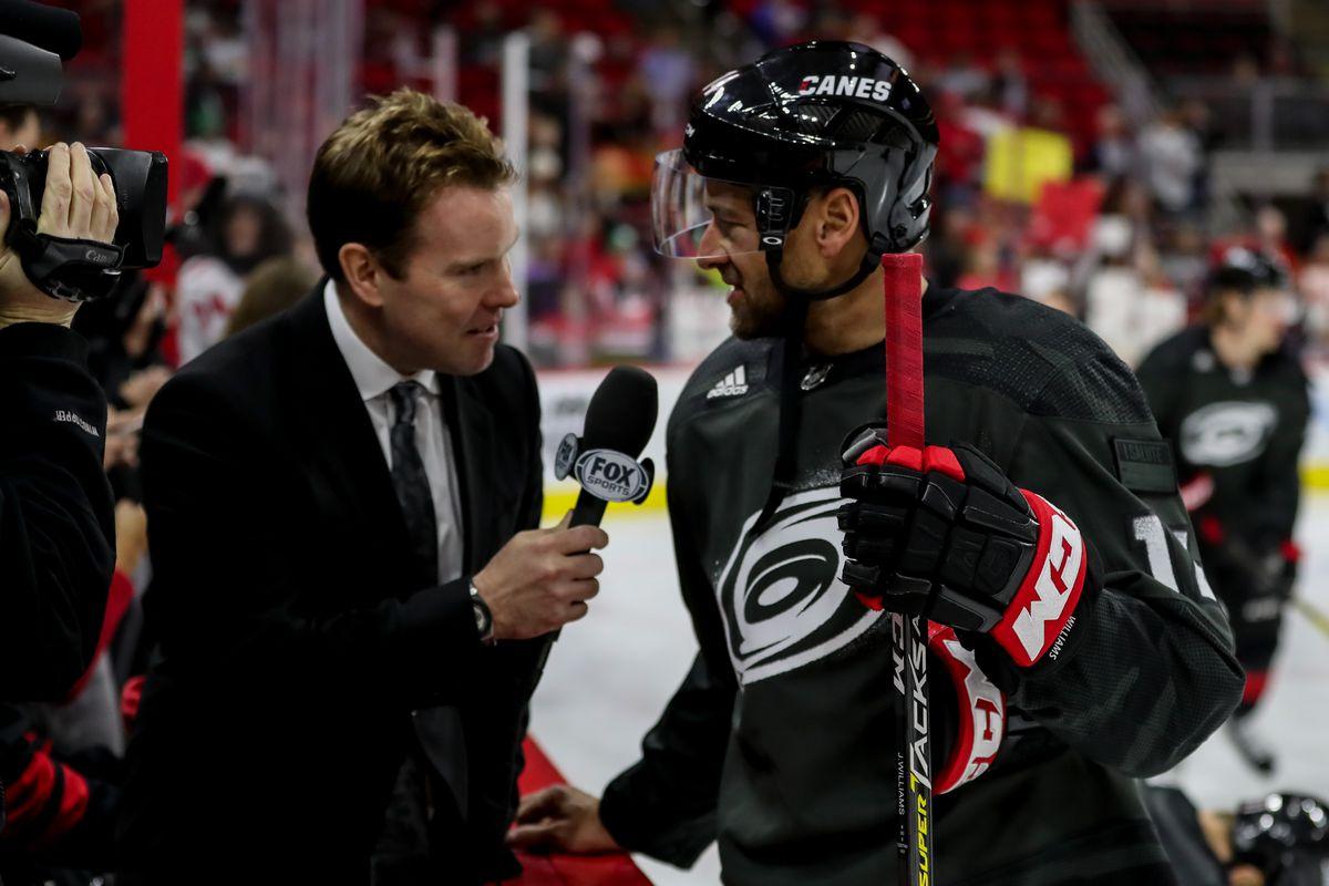 NHL: JAN 19 Islanders at Hurricanes