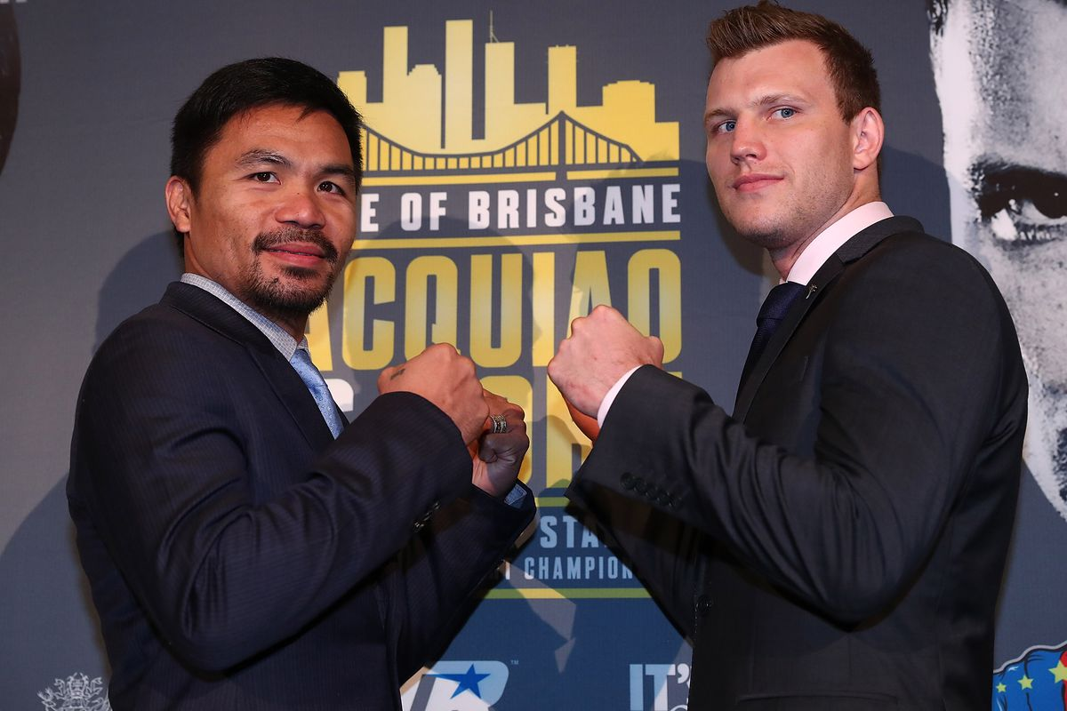 Manny Pacquiao v Jeff Horn Press Conference