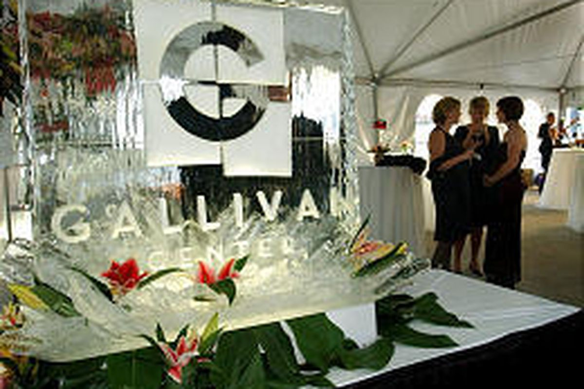The Gallivan Center celebrates 10 years with a black-tie gala on Friday. The festivities continue today.