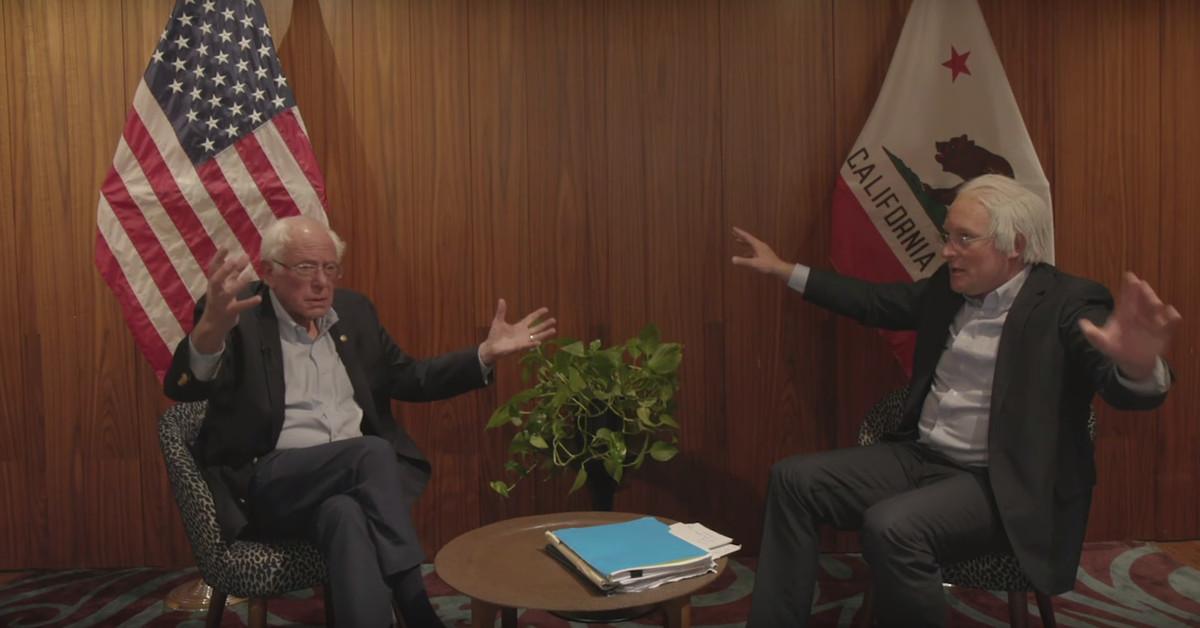Bernie Sanders Interviewing Bernie Sanders Is Better Than Any Dem Debate