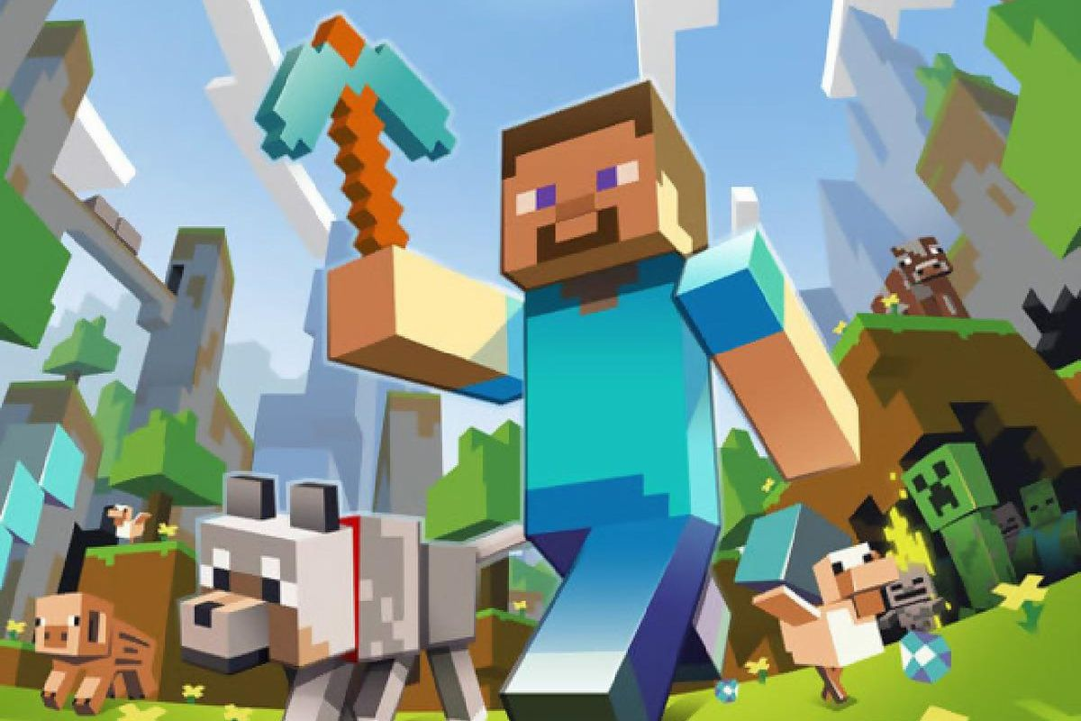 minecraft is now available on apple tv for  19 99 the verge electric circuit game app electric circuit games for kids