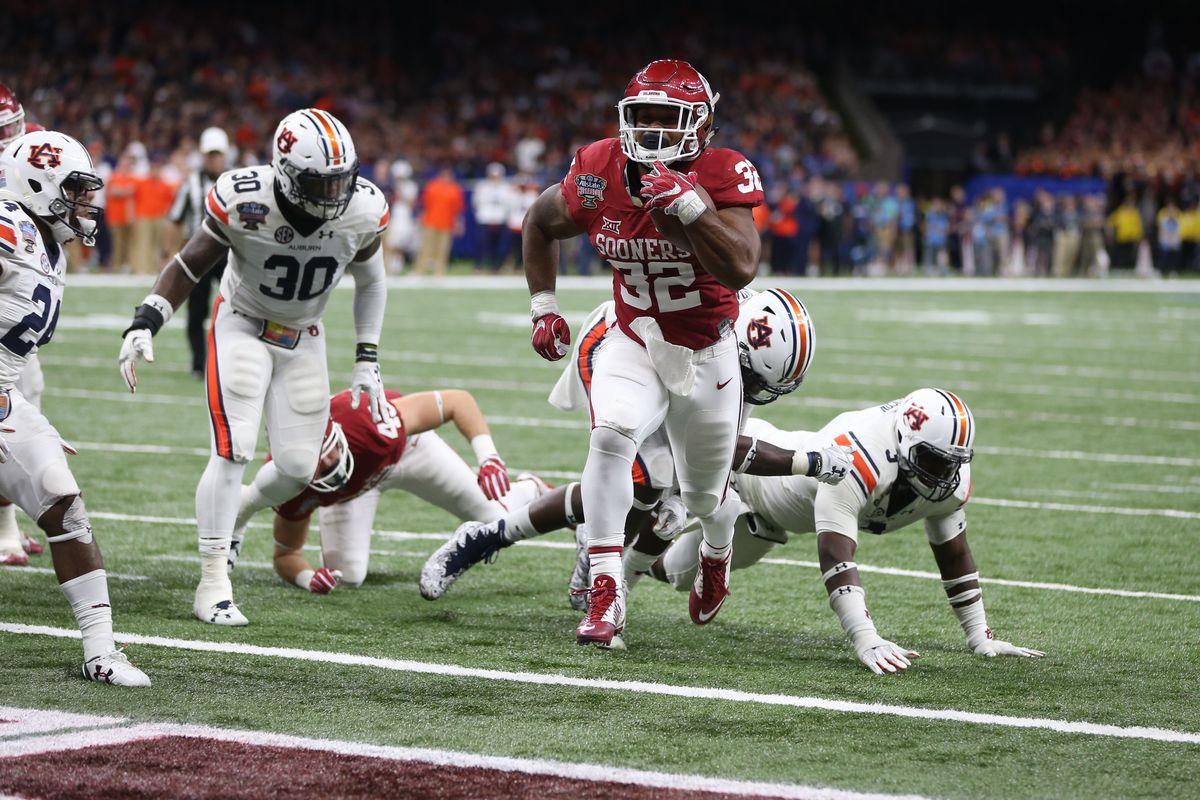NCAA Football: Sugar Bowl-Auburn vs Oklahoma