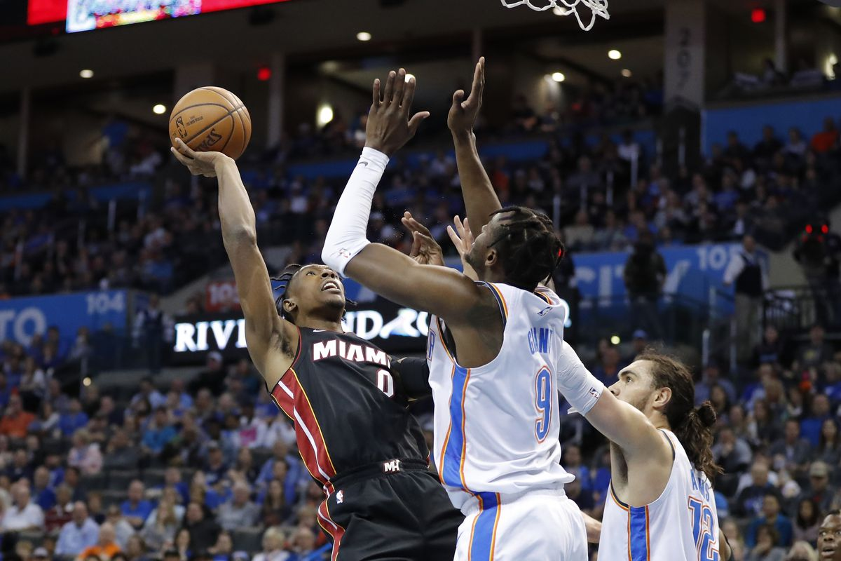 Thunder Vs Heat Final Score Okc Flames Out Again At Home Falls To Miami 116 107 Welcome To Loud City