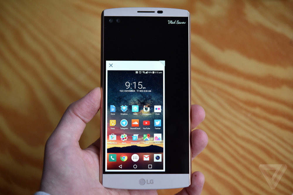 LG V10 review   The Verge