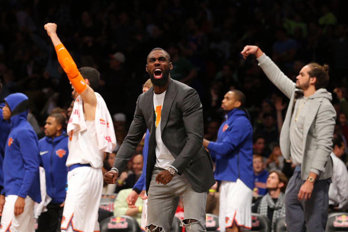 NBA: New York Knicks at Brooklyn Nets