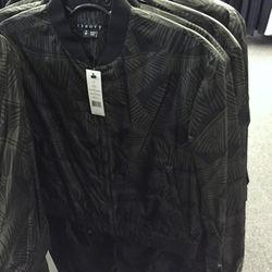 Palm pattern jacket, $249 (was $495)