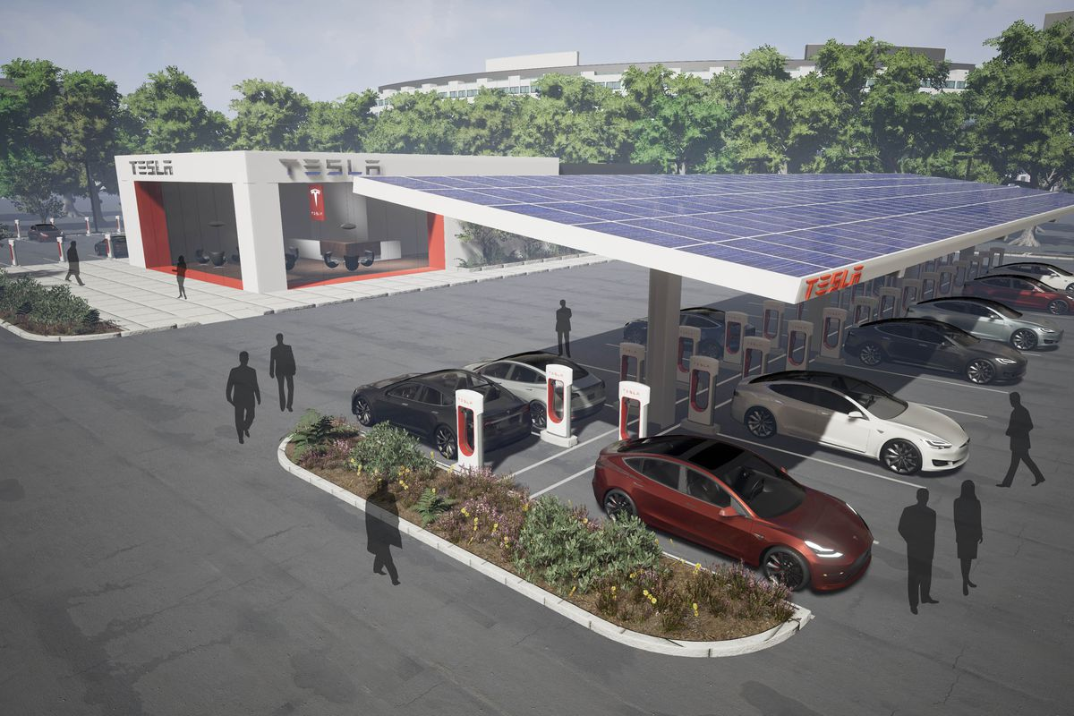 Tesla Is Making A Big Expansion To Its Supercharger