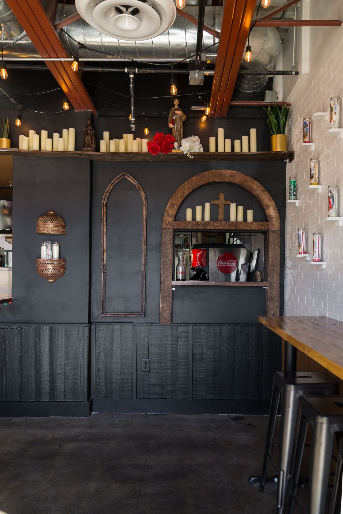 The taco confessional at Santos Guisados Tacos & Beer