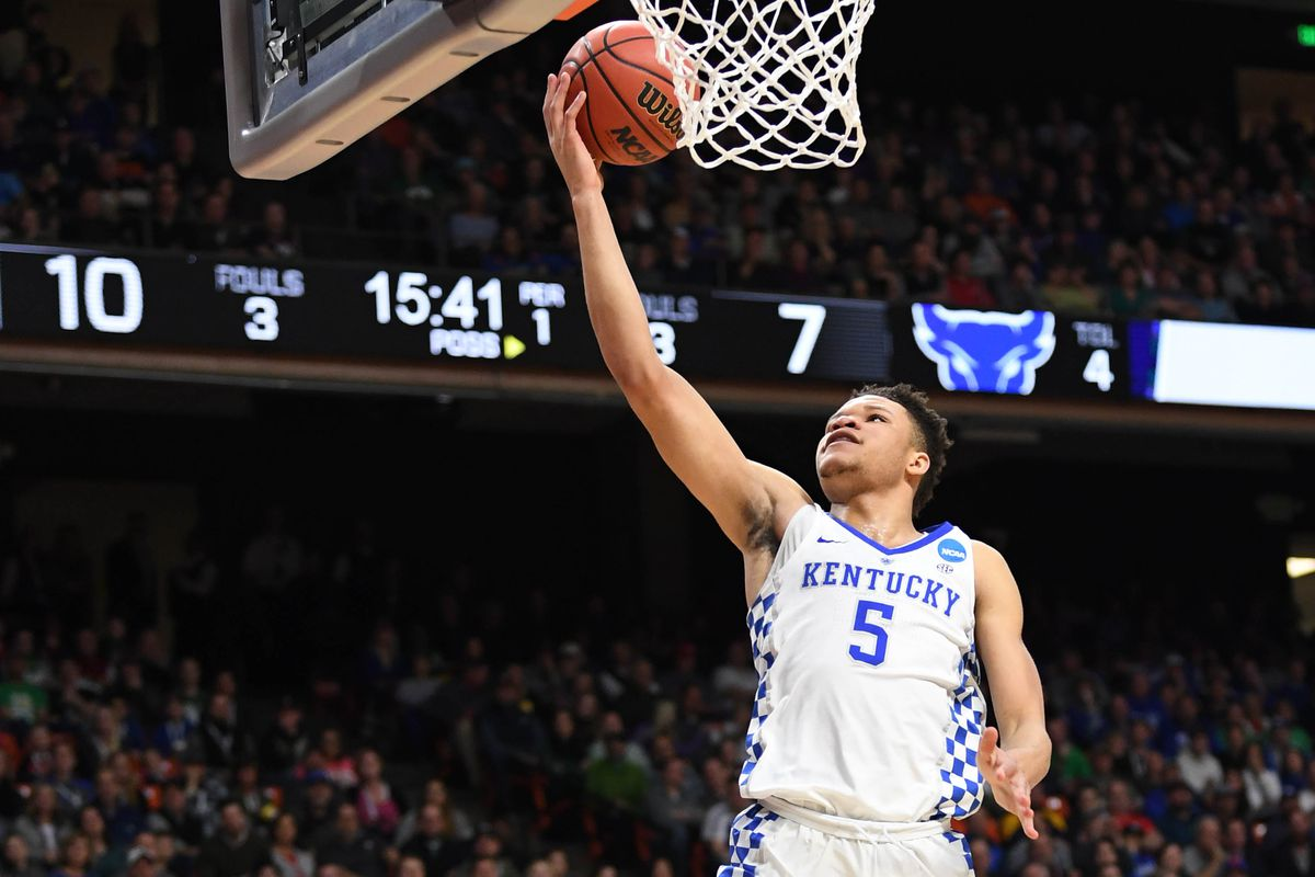 Kevin Knox Explains Decision To Pick Kentucky Basketball: Kentucky Basketball: Kevin Knox NBA Draft Decision Update