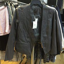 Joie leather jacket, $200