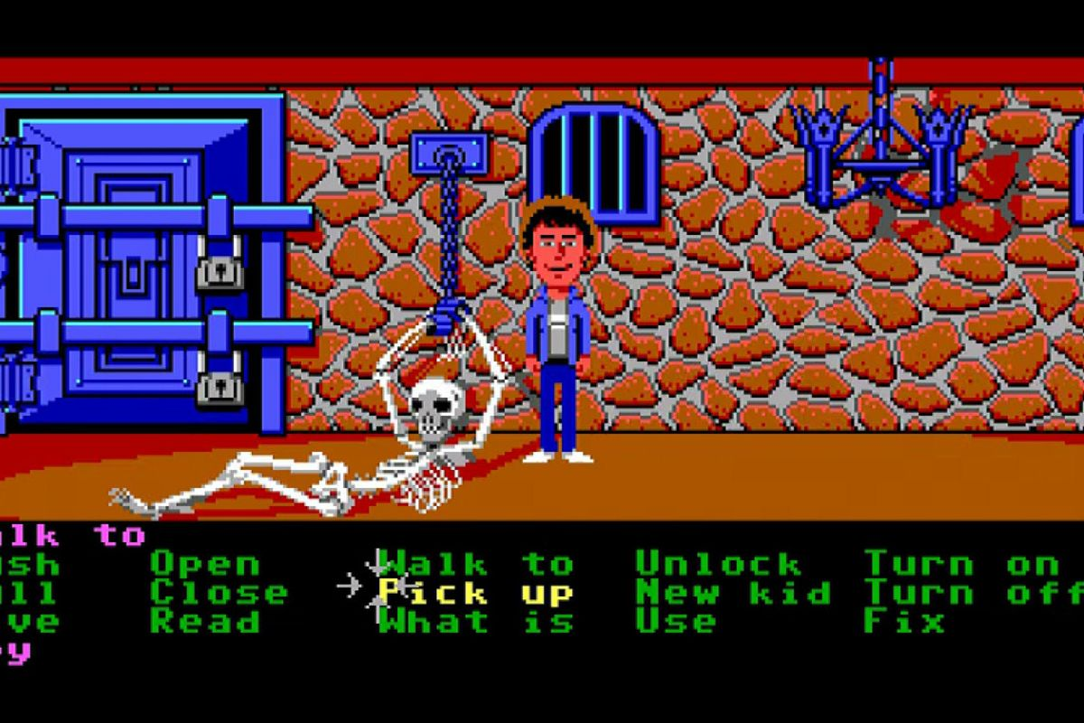 Image result for Maniac Mansion