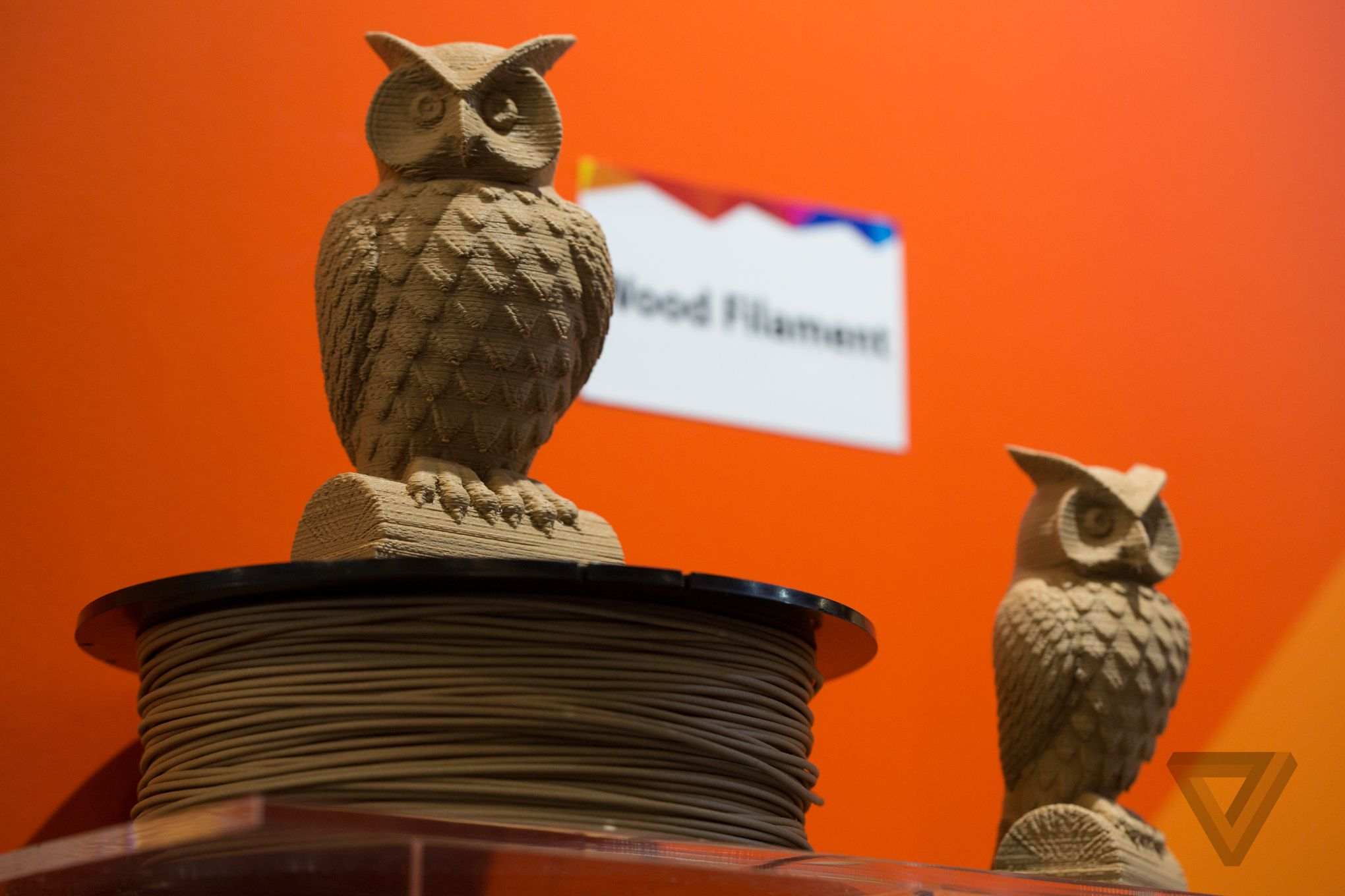 Wood filament 3d printing