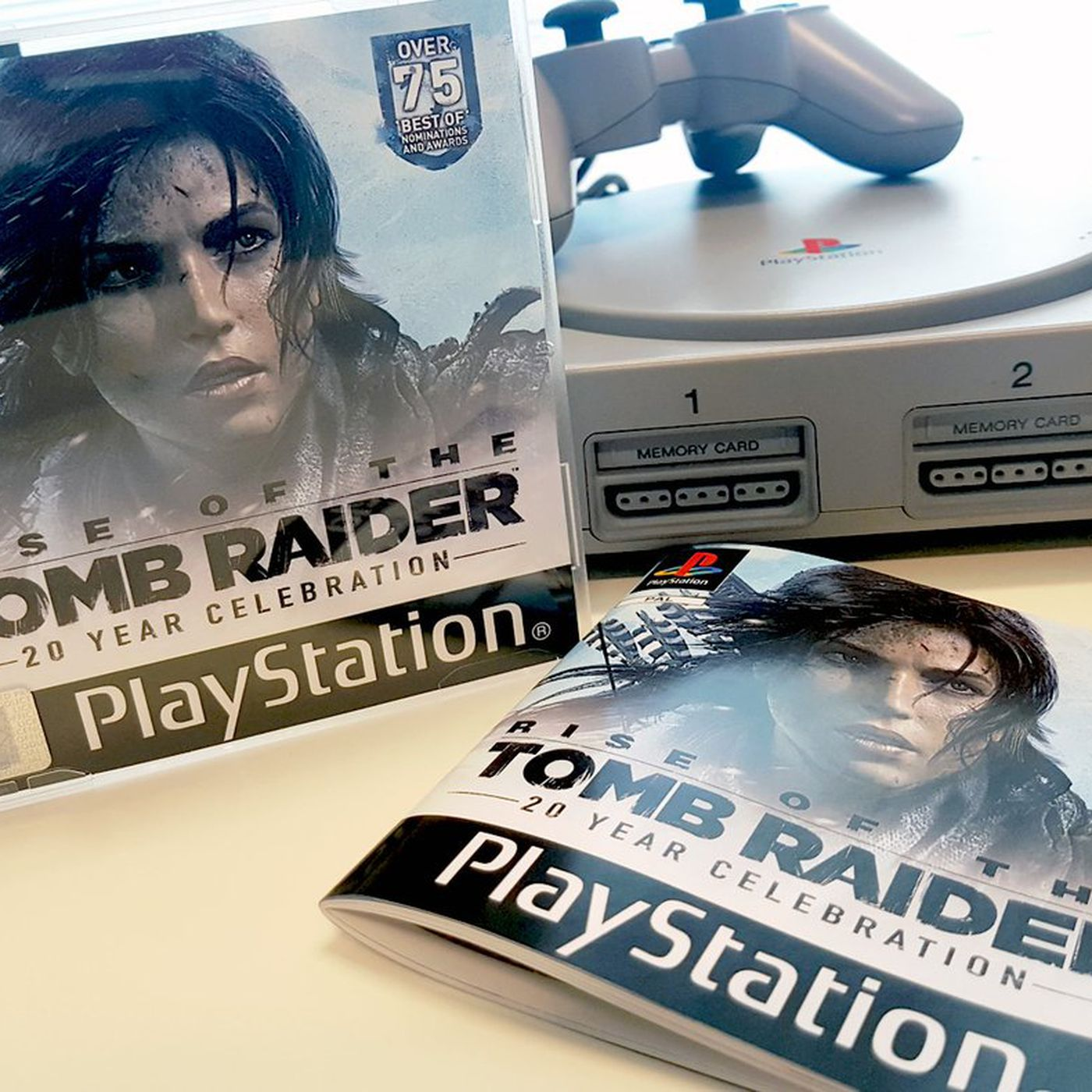 You Can T Buy Rise Of The Tomb Raider S Lovely Ps1 Throwback But