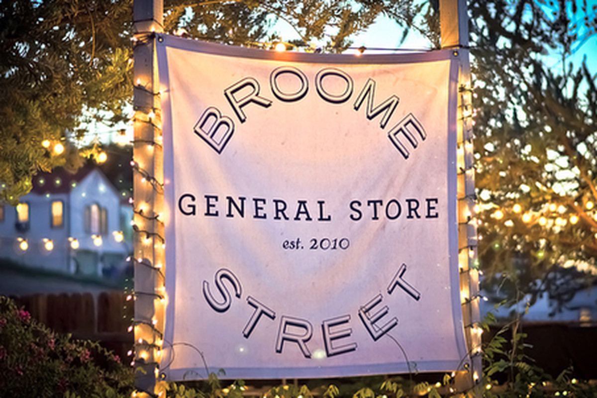 Outside Broome Street General Store, Silver Lake.
